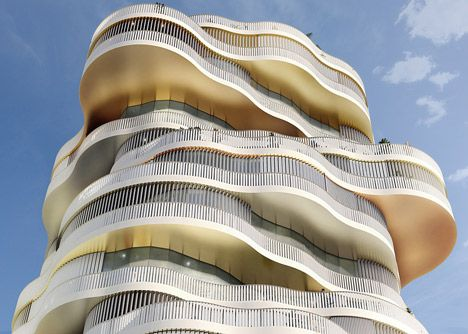 Lot 2, Jardins de la Lironde by Farshid Moussavi Architecture
