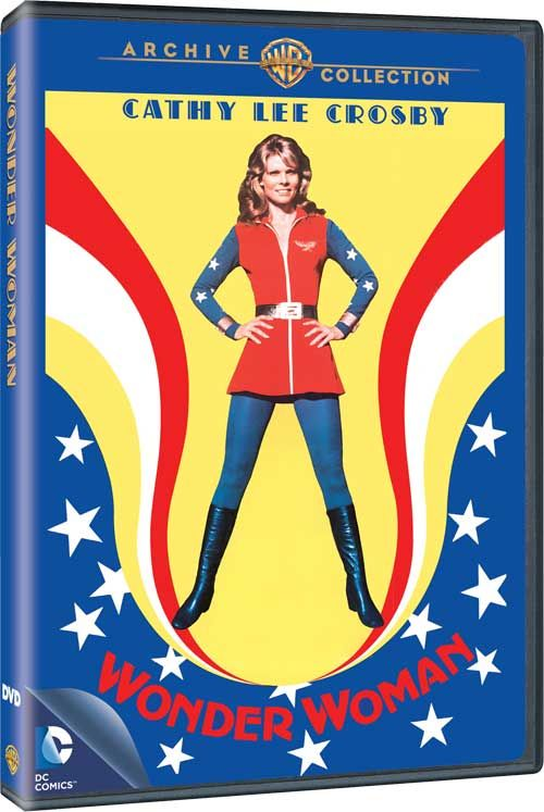 Wonder Woman - 'The Cathy Lee Crosby Pilot' from 1974 Comes to DVD at Last!