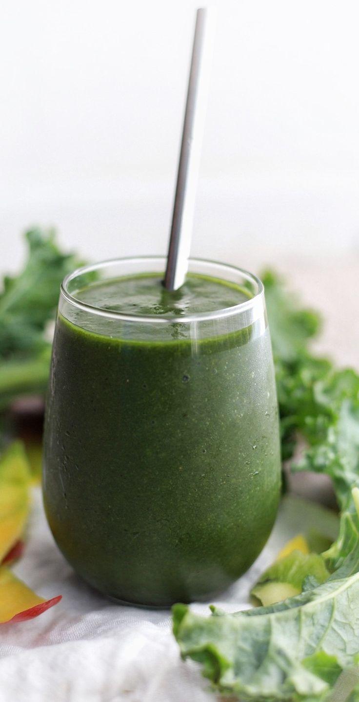 mango kale power smoothie