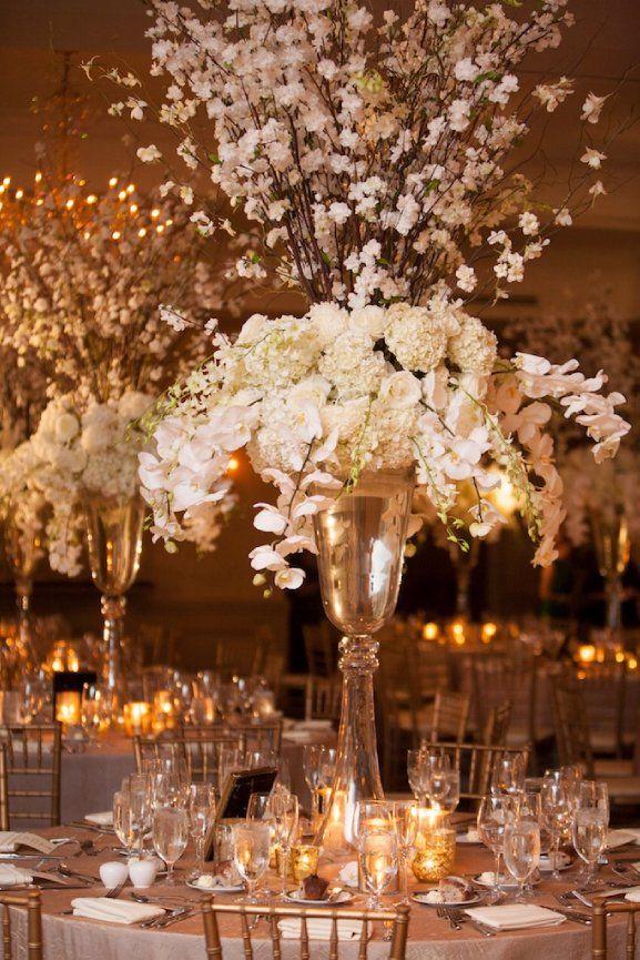 best wedding reception halls in nyc%0A Diana Gould Ltd   The Chosen Few  Event Design gold and white wedding decor u