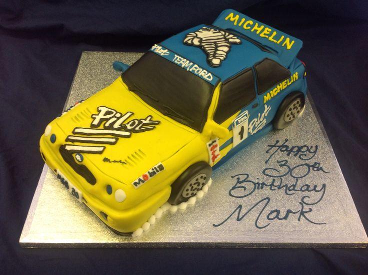 Rally Car Cake Cakes Rally Car Car Cake