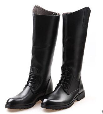 Косплей обувь сапоги мода мужская ковбойские сапоги высокие парад их рыцарь рыцарь сапоги британский евро езда рэп хип-хоп COS обувь