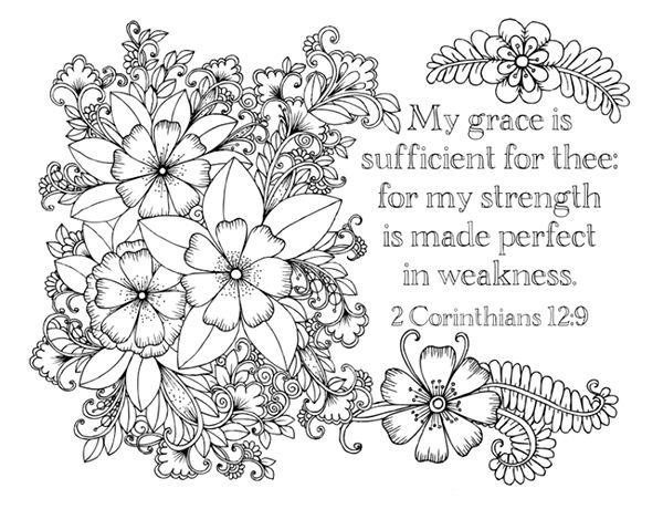 bible study faith provision week 2 part 2 adult coloring pagescoloring - Religious Coloring Books