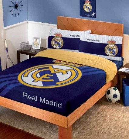 Cobertor fleece con borrega real madrid cobertores hogar for Decoracion hogar madrid