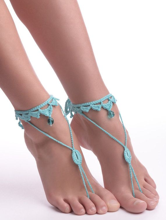 Hey, I found this really awesome Etsy listing at https://www.etsy.com/ru/listing/226050506/crochet-barefoot-sandals-foot