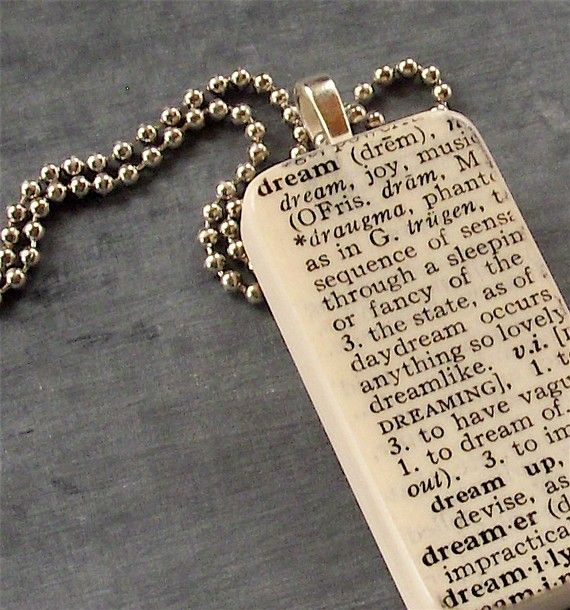 Love the dictionary definition on the Domino. Love/Faith/Hope/Family/Friends. The list is endless.
