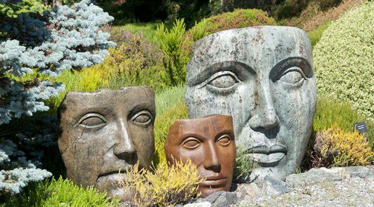 Online sales distributor for Castart Studios; unique art for the garden - faces, birdbaths, benches, fountains, lanterns, statues, ornaments, planters for sale