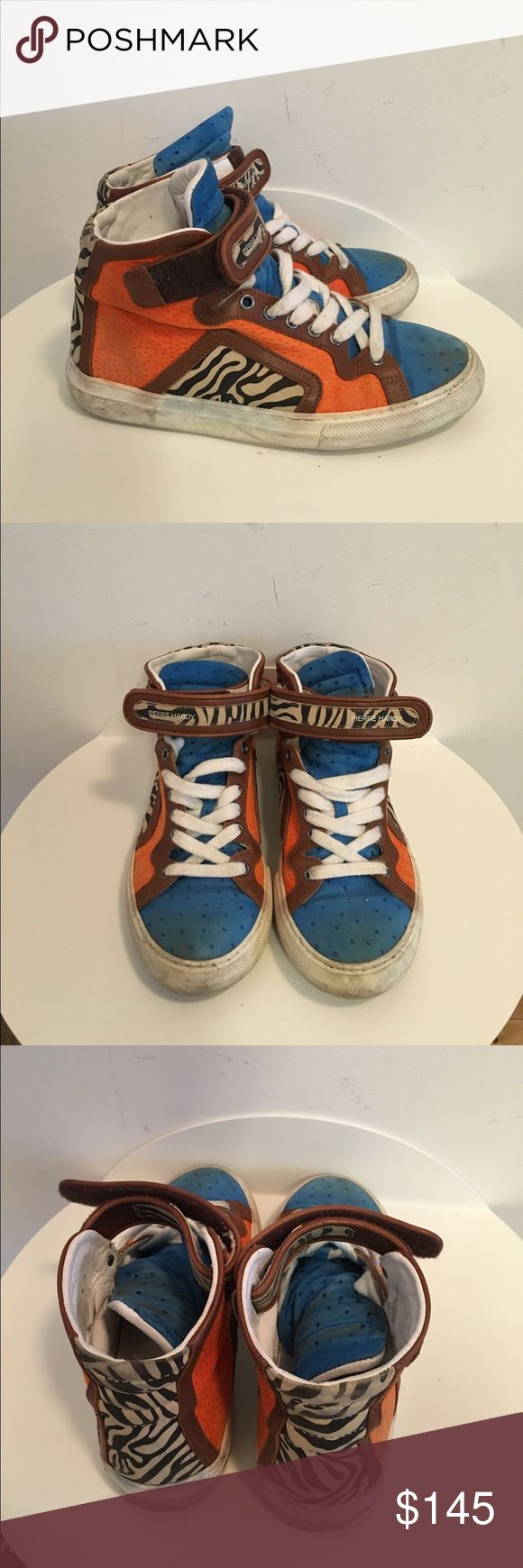 Pierre Hardy sneakers Cool Pierre Hardy sneakers! Great condition. Size 36/6 Pierre Hardy Shoes Sneakers