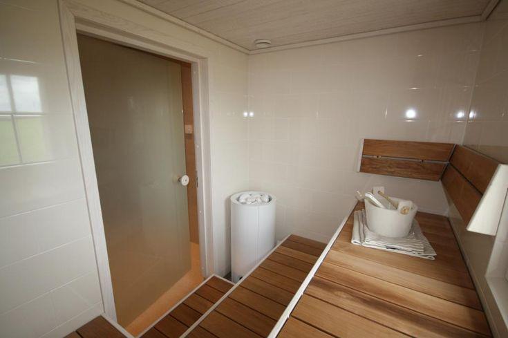 Tulikivi Sumu sauna-heater. Kannustalo Villa ElSalla