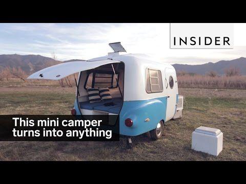 Happier Camper is a retro trailer that transforms itself - TODAY.com