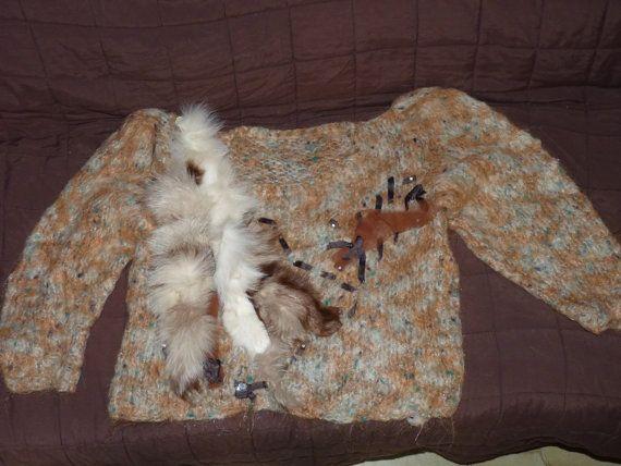 maglione fatto a mano-VINTAGE