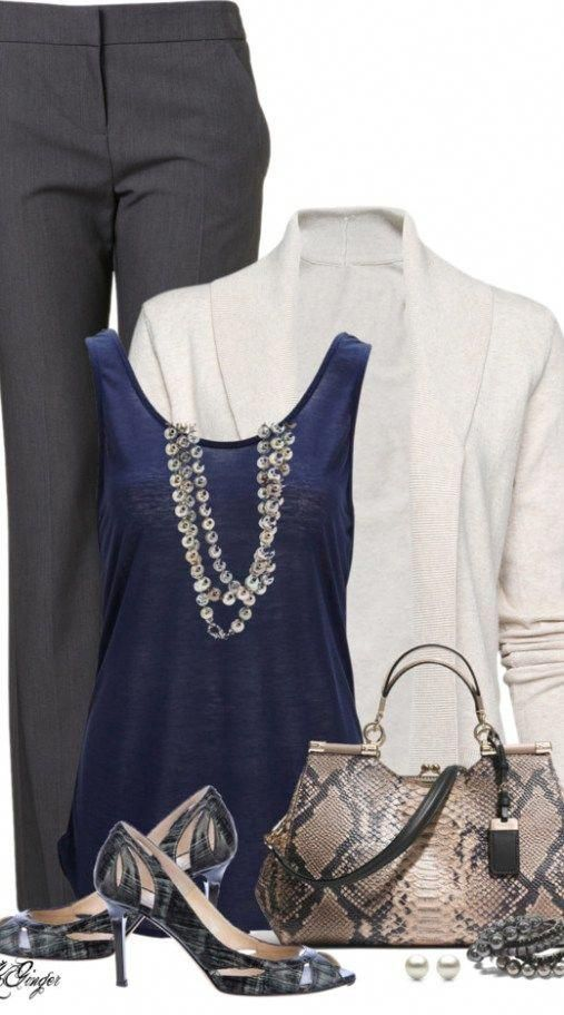 20 Great-Looking Work Outfits for Women #womensfashionforworkoffices