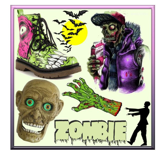 Zombie! by whirlypath on Polyvore featuring Iron Fist