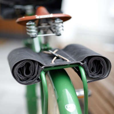 Sacoche de vélo double en cuir Brooks Brick Lane