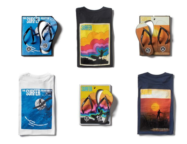 Reef celebrates 80s advertising style with Surfer magazine