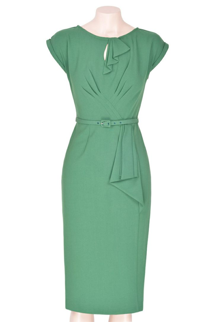 Timeless Dress - Emerald - Pretty Dress Clothing Store