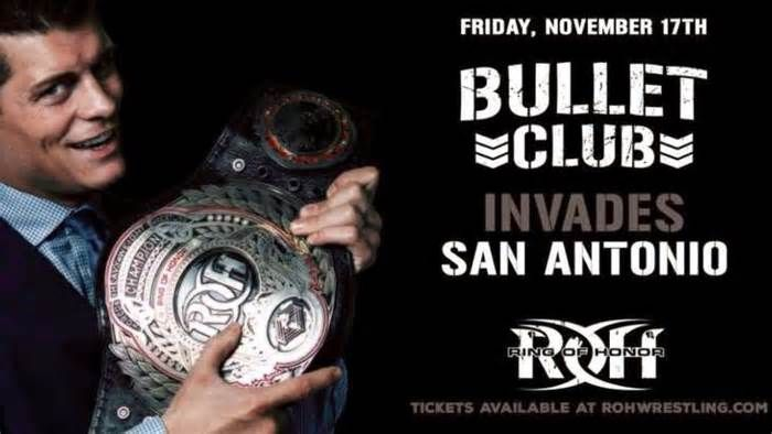 The Bullet Club offer the McMahons a discount on tickets to Ring of Honor's San Antonio show San Antonio isn't