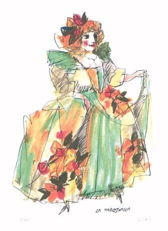 illustration by Emanuele Luzzati