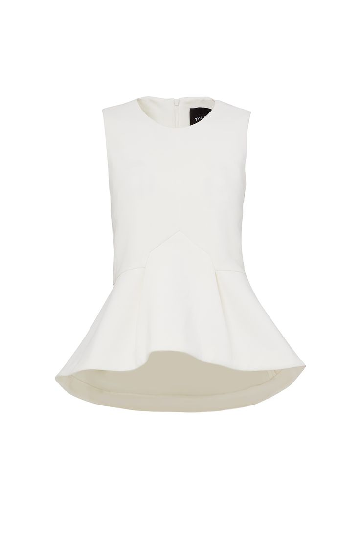 Cream Rive Gauche Top by TY-LR for $35 | Rent The Runway