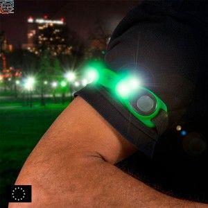 GoFit sportsarmbånd med LED lys