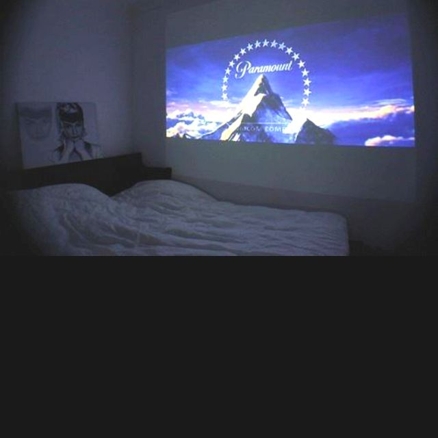 huge projector tv. want this!