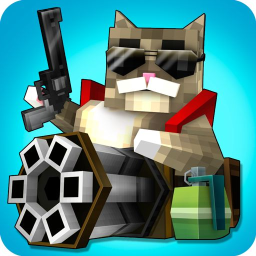 Mad GunZ  online shooter v1.0.2 Mod Apk MoneyImagine: you wake up and feed your lovely kitty and then the madness begins! Where did Mr. Fluffy go and what the hell an armored turkey in here? Does it have anything to do with those strange unicorns? Youre gonna find out  in this adventurous one of the best new gun shooting games and online shooters with strange and cute pixel art.  Mad GunZ is not really like one of your regular gun games other gun shooting games hasnt surprised you that much…
