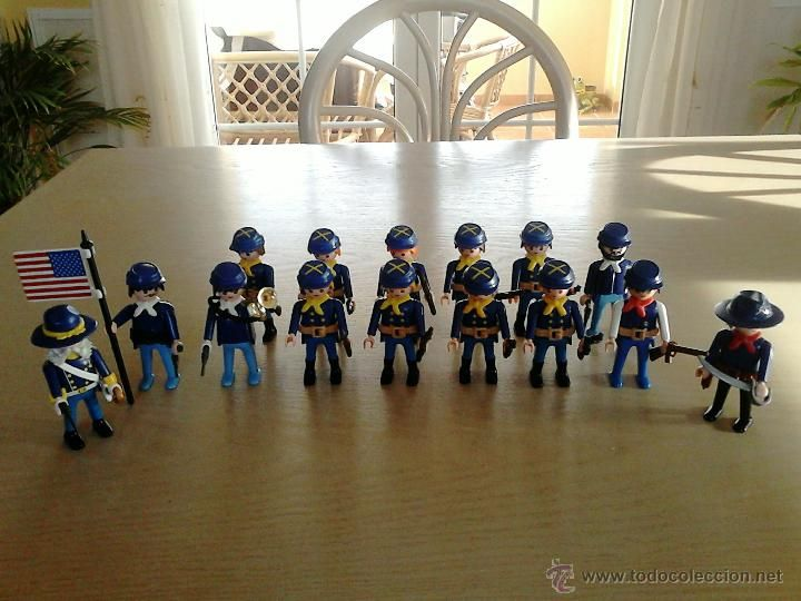 EJERCITO DE LA UNIÓN PLAYMOBIL / PLAYMOBIL ARMY OF THE UNION