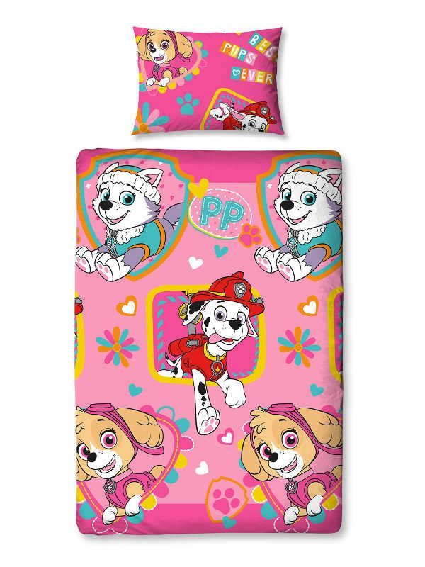Paw Patrol Forever Single Duvet Cover Set Polyester £12.95 Free UK Delivery