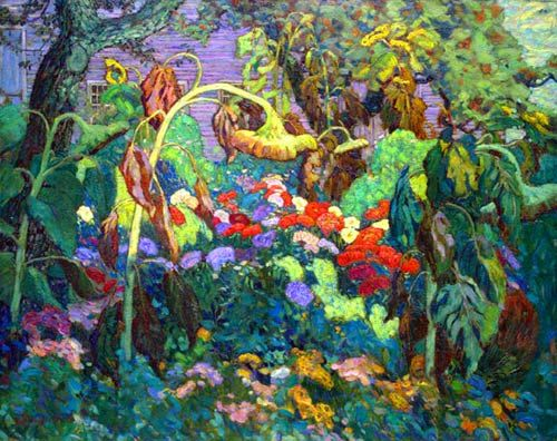 The Tangled Garden by Group of Seven Painter J. E. H. MacDonald (1873-1932)