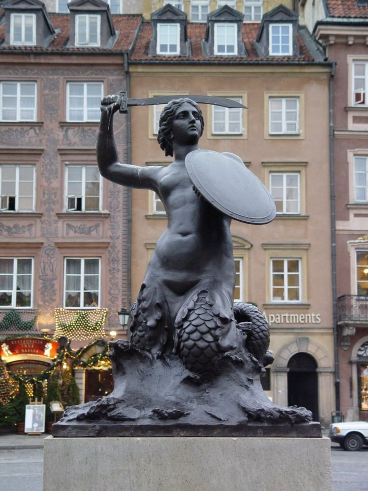 Legend from Warszawa (Warsaw), the capital city of Poland. Once upon a time there was a sea mermaid who got lost and swam up the Wisła (Vistula) River. After a long journey she decided to take a re…