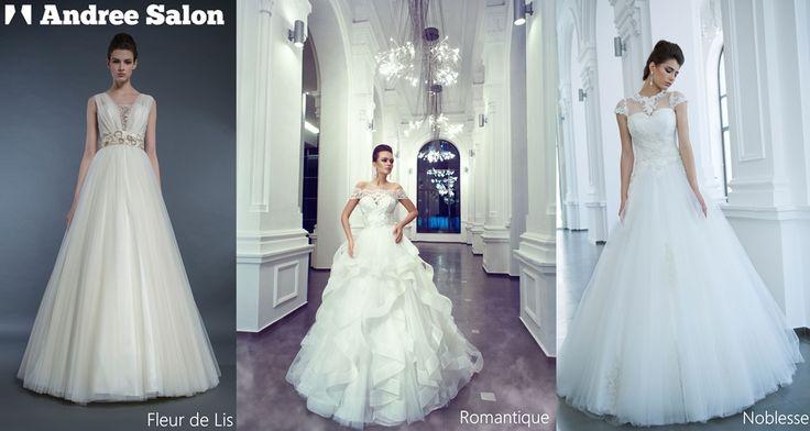 Fiecare colecție vine cu un stil unic. Care este pe gustul tău? Photographer: Gabriel Hennessey  #andreesalon #weddingdress #wedding #dresses #fleurdelis #romantique #noblesse #glam #fashion #lance #collection #fleur #lis #crin #perfectdress #amazing