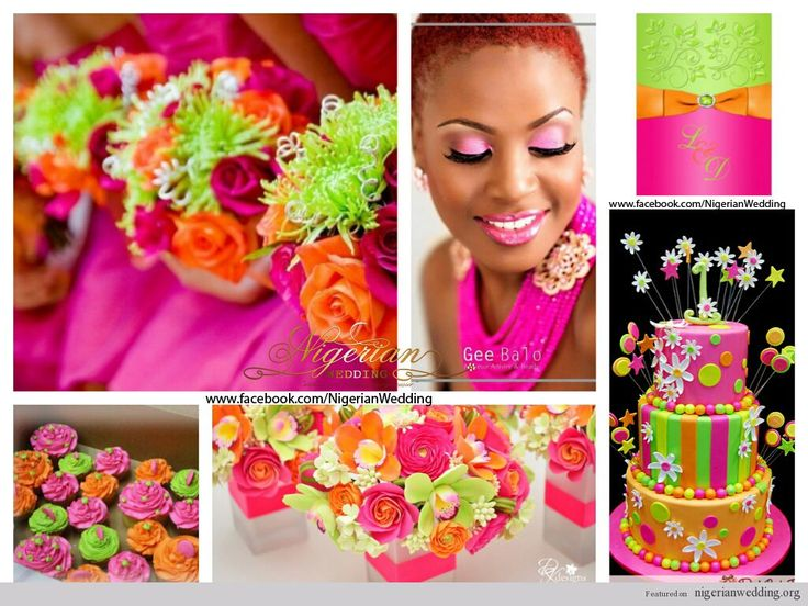 Ring In A Spicy Hot Palette Of Colors That Go With Orange: 17 Best Images About Nigerian Wedding Color Schemes