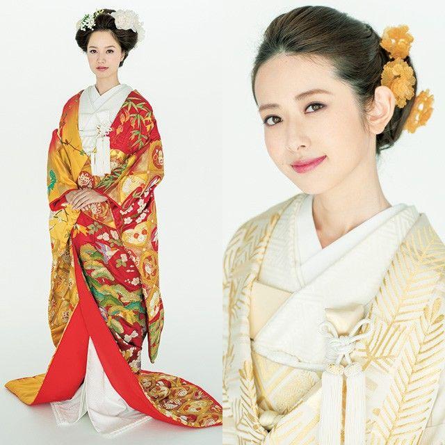 きもののヘアは、ドレスにはないスタイリングのコツがあります。この特集では花嫁に人気のサロンが、きものの色別にさまざまなヘアスタイルを提案。