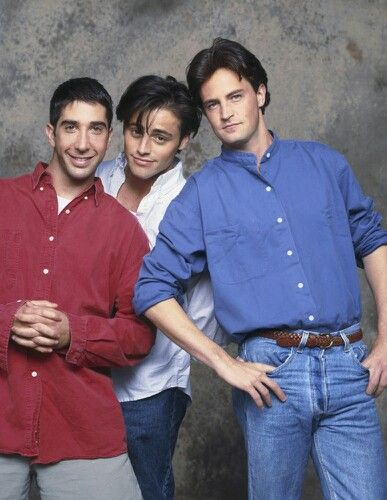 Chandler, Joey and Ross