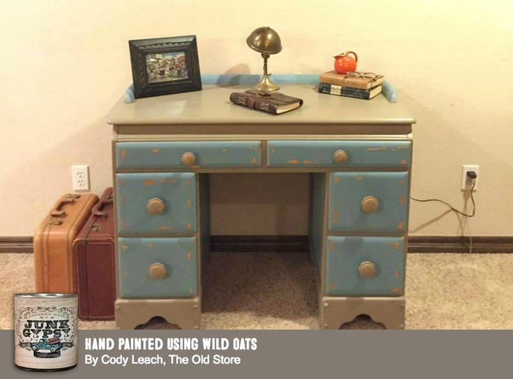 Painted Furniture With Wild Oats Junk Gypsy Paint