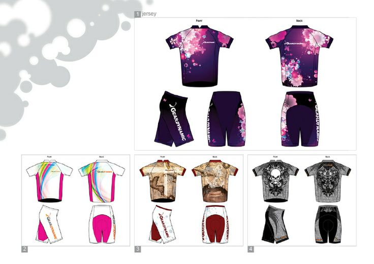 2D > Graphic > BRAVOWAY INT'L Co. Job Nature: Cycling Jersey Design