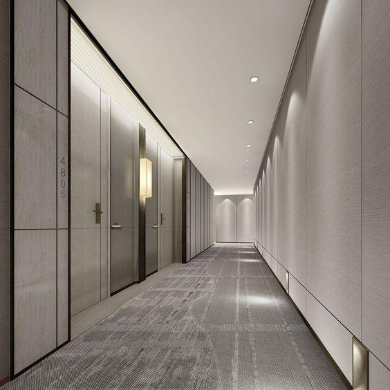 1271 best hallway images on pinterest runners hotel for Hotel corridor decor