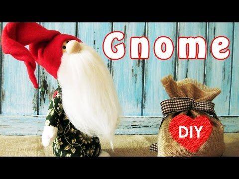 Wie zu Nähen eine Gnome. Weihnachts-DIY. - YouTube