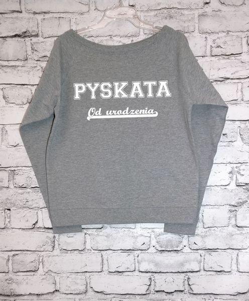 PYSKATA Off-Shoulder Sweatshirt w soulosophy na DaWanda.com