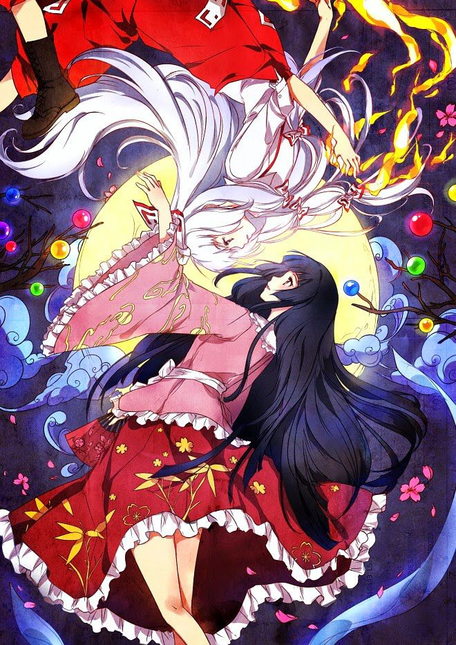 Anime Characters In Their 30s : Best yin and yang images on pinterest anime girls