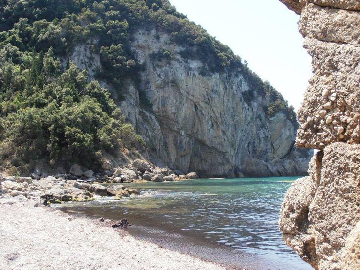Aghios Goridis, Corfu's central western coast