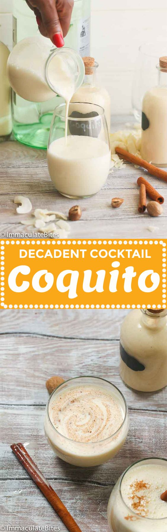 Coquito or also known as the Puerto Rican Eggnog is a refreshing and tropical drink with a twist made primarily of sweetened condensed milk, coconut milk, cinnamon, nutmeg and rum. Rich, creamy, sweetened coconut rum drink! Christmas isn't complete without glasses of boozy drinks over festive songs and loud chatter. It may …