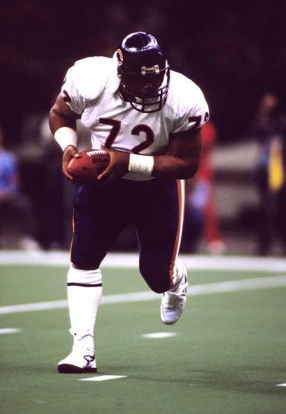 the Fridge William Perry # 72 Da Bears