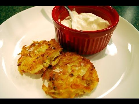 Potato Pancakes Recipe from Chef Michelle Berstein - Michy's Munchies - YouTube