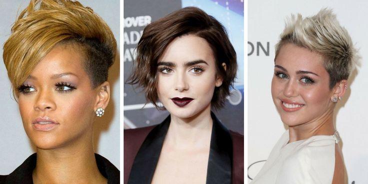 30 Ideen für kurze, von Stars inspirierte Haarschnitte
