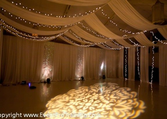 Ceiling Draping - Event Pro Training                                                                                                                                                                                 More