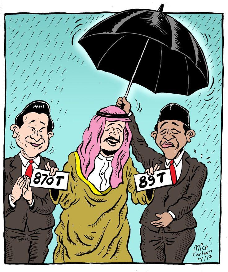 MICE CARTOON - Guyon...   Sumber: Rakyat Merdeka   Edisi: April 2017