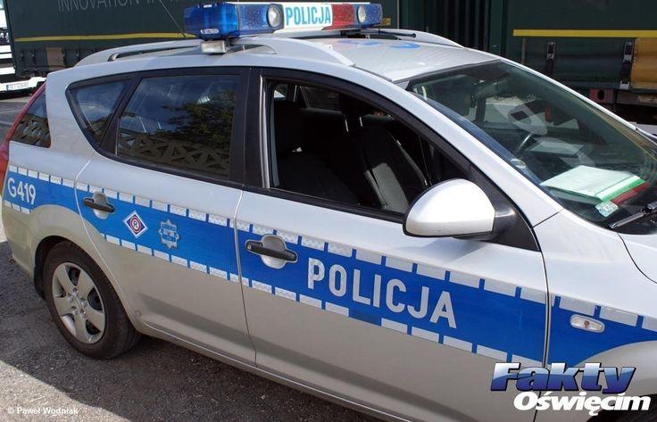 Z trzylatką do szpitala radiowozem na sygnale #Łęki #konwój #policjanci #drogówka #policja #Oświęcim #radiowóz
