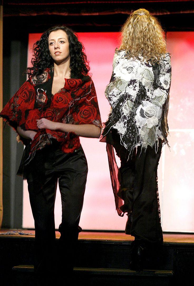 Yaga handmade shawls.