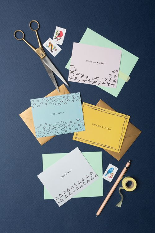 Free printable stationery. Yes, please!